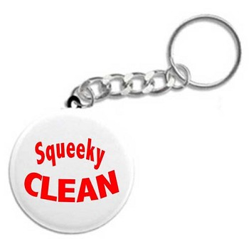 Squeeky Clean - Recovery Key Chain