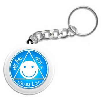 We Are Not a Glum Lot - Recovery Keychain