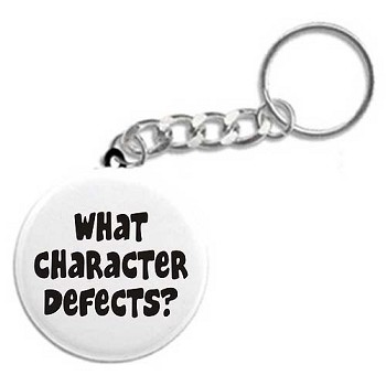What Character Defects? Recovery Key Tag