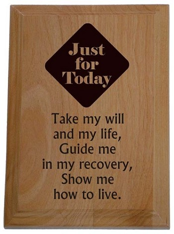 Na Third Step Prayer Wooden Plaque Narcotics Anonymous