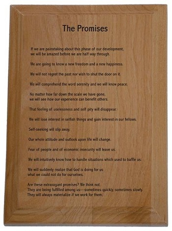 The Promises Wooden Plaque