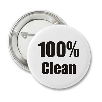 100% Clean - Recovery Pin