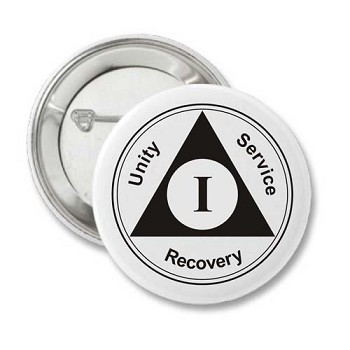 AA Anniversary Recovery Button