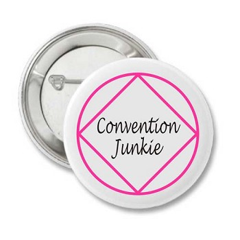 NA Convention Junkie Button