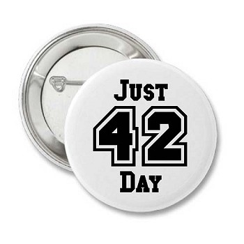 Just 42 Today - Recovery Button