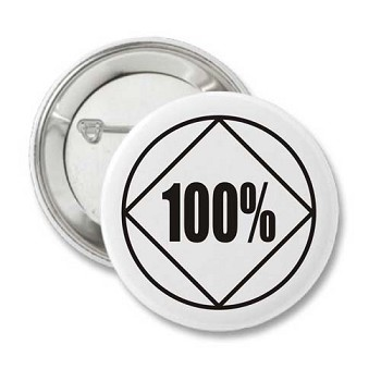 100% NA - Recovery Button