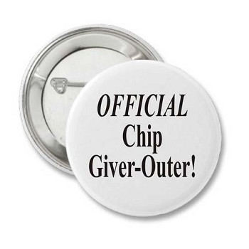 Official Chip Giver Outer - Recovery Badge