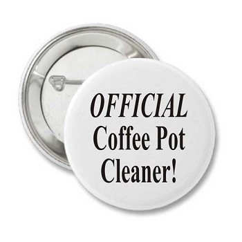 Official Coffee Pot Cleaner - Recovery Pin