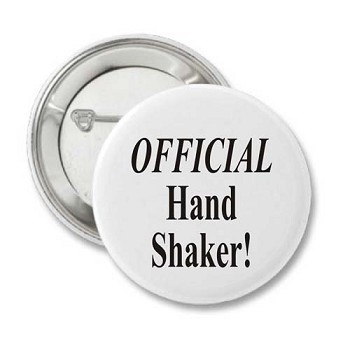 Official Hand Shaker - Recovery Button