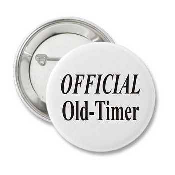 Official Old-Timer Button