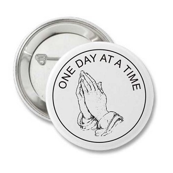Praying Hands - Recovery Pin