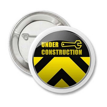 Under Construction - Recovery Pin