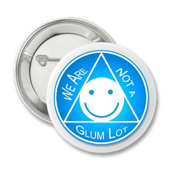 We Are Not a Glum Lot - Recovery Pin