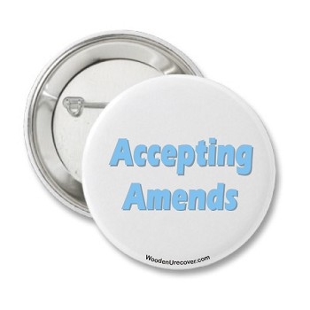 Accepting Amends Button