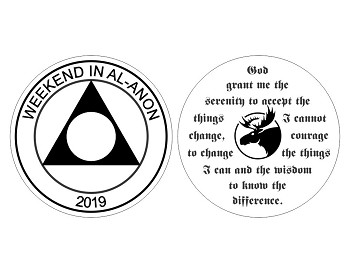 Weekend In Al-Anon 2019 Medallion