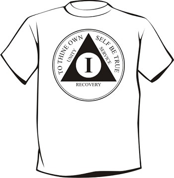 AA Anniversary T-Shirt - Front Side