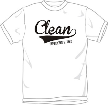 Clean T-Shirt with Date